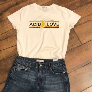Levi's 505 Straight Leg Jeans (shirt included)